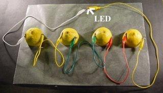 Limondan Elektrik Üretimi
