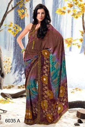 Indian-Party-Wear-Saree