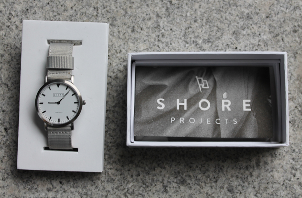 Shore Projects wrist watch