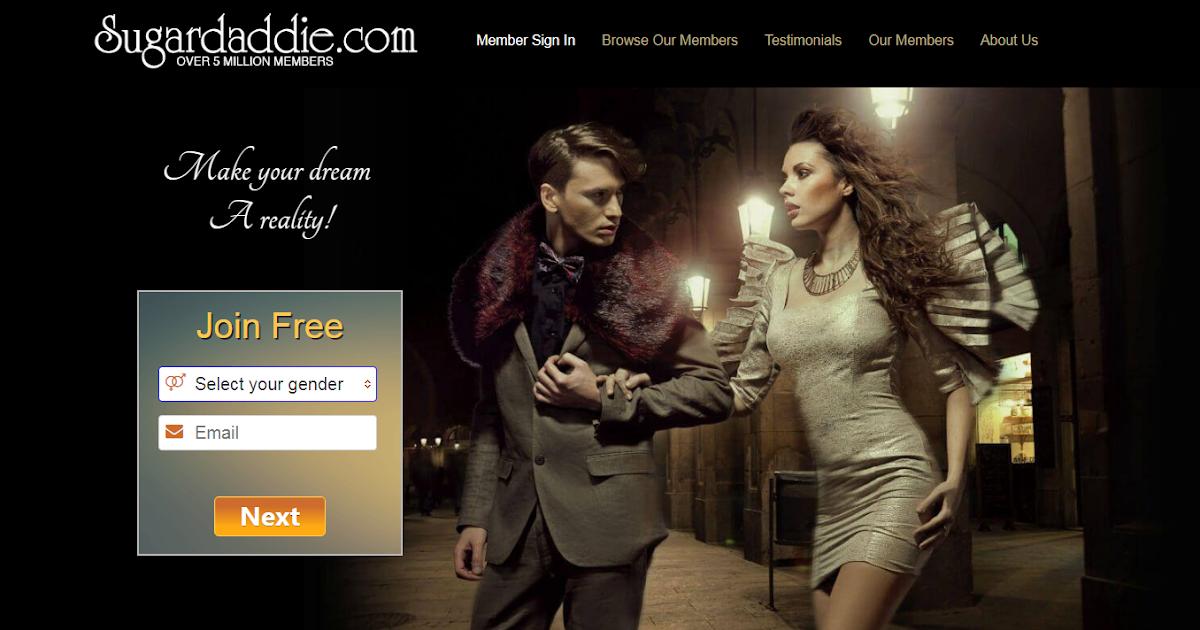 Sugardaddie.com online dating site
