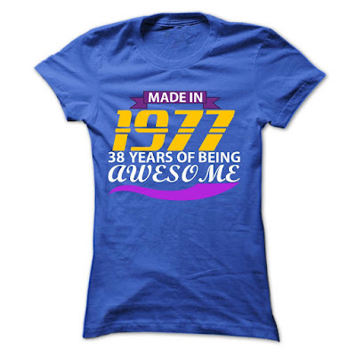 Tee For 2015: Made In 1977