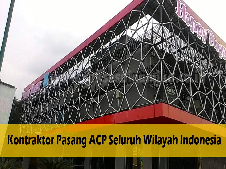 Beli Alminium Composite Panel (ACP) Alucobond Kirim ke Jember