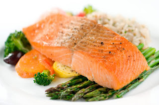 cara awet muda dengan salmon