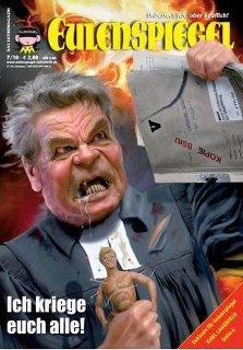 Bildquelle: hinter-der-fichte.blogspot.de - Bundespräsident in Israel: Die Lügen des Gaucklers