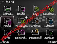 Theme BlackBerry full icon symbian s60v3 s60v5