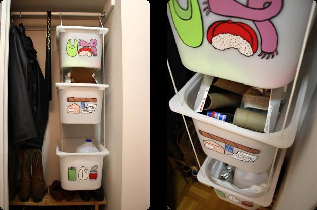 diy trofast closet organizer get home decorating. Black Bedroom Furniture Sets. Home Design Ideas