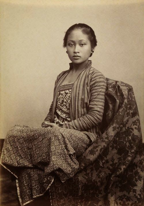 Young Javanese Woman by Kassian Cephas 1845-1912 c. 1885