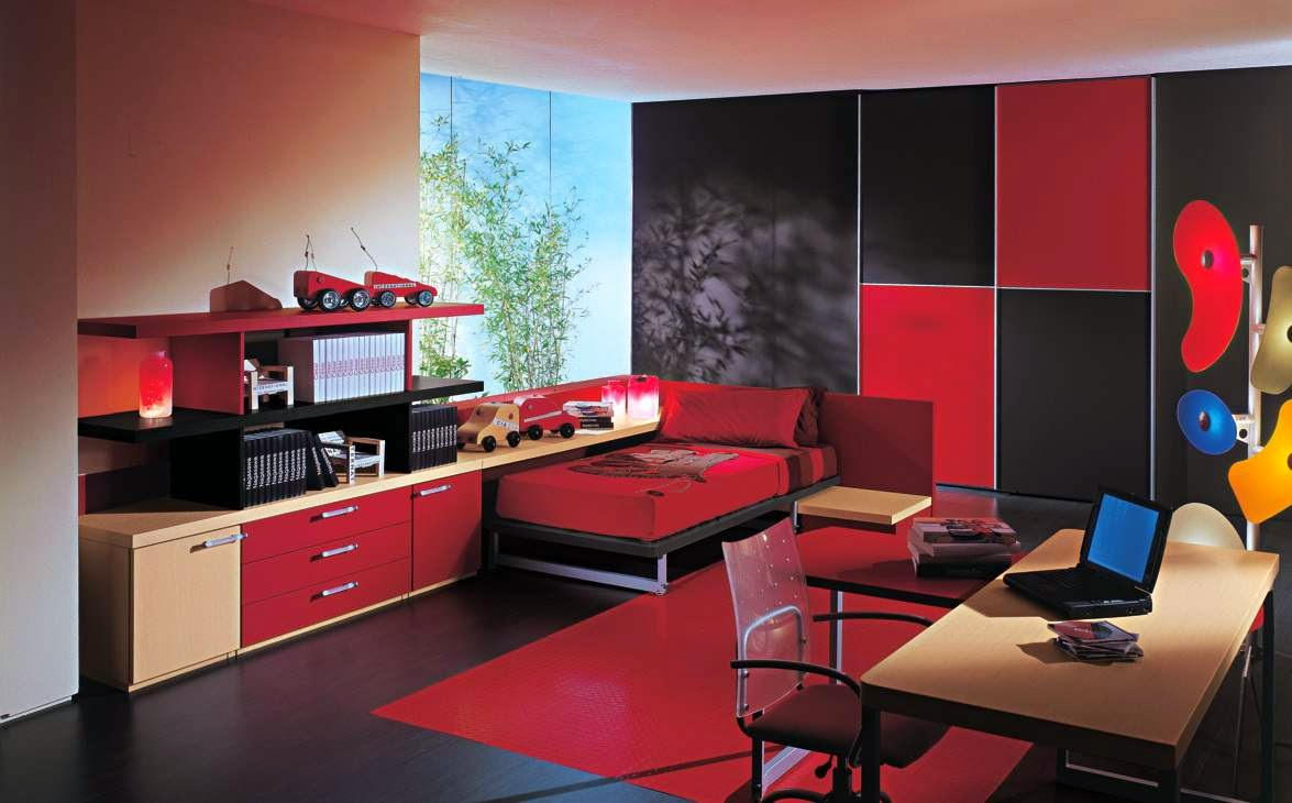 Ideas To Incorporate The Colors Of The Home Decor Of Red And Black