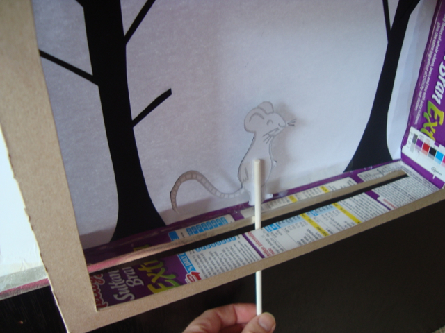 mousehouse diy shadow puppet theatre. Black Bedroom Furniture Sets. Home Design Ideas