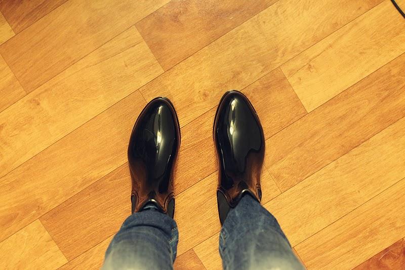niskie kalosze sztyblety must have buty blog moniusza na deszcz