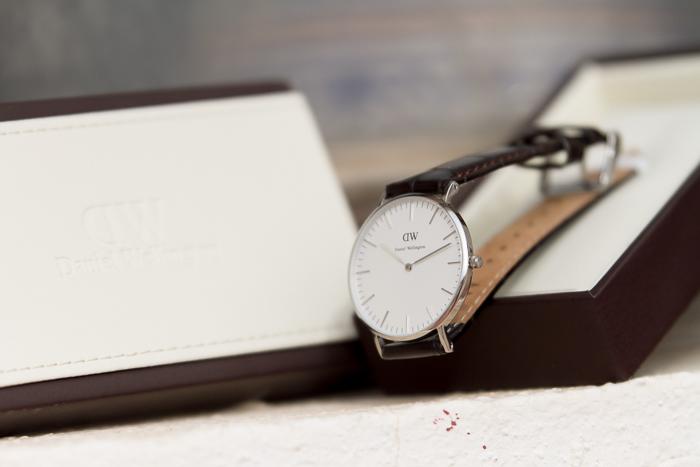 Complementos tendencia blogger moda reloj plata Daniel Wellington