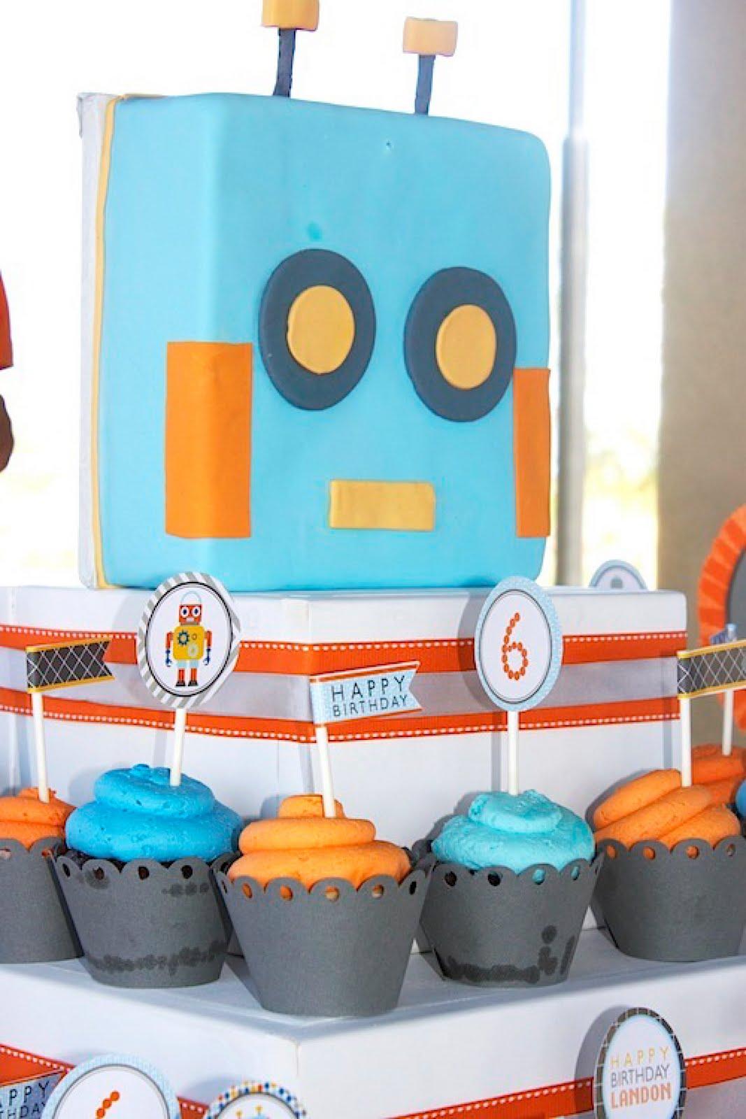 A Robo Tastic Robot Party Anders Ruff Custom Designs Llc