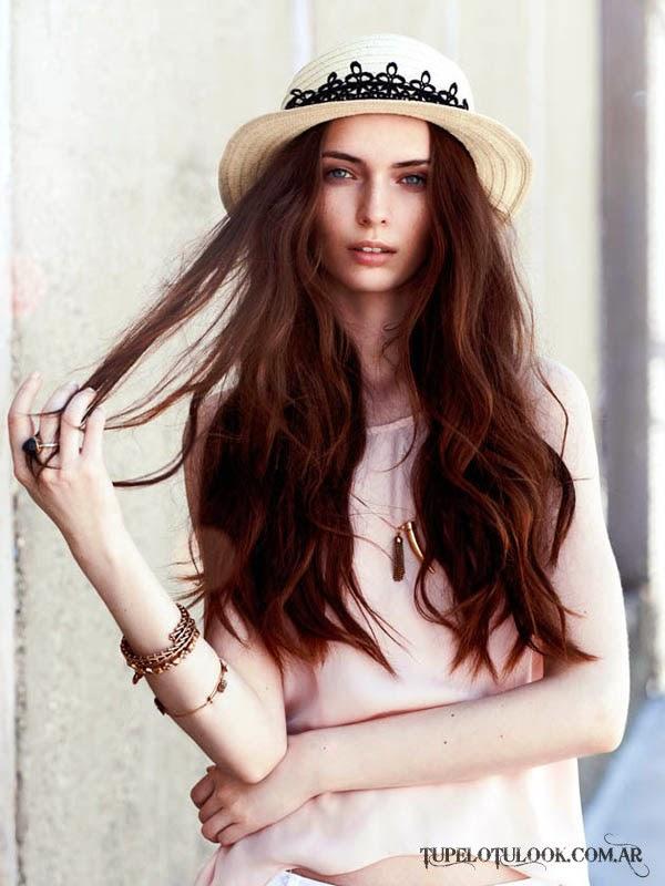 peinados con accesorios 2015