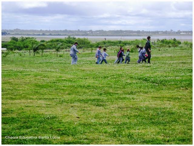 Recorrida en día nublado  - Chacra Educativa Santa Lucía