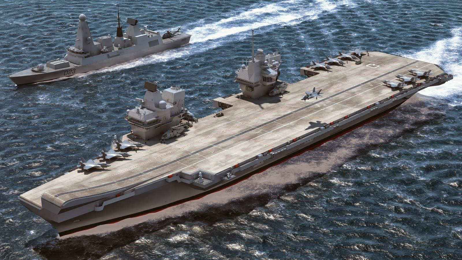 British Aircraft Carrier Queen Elizabeth My Continuing Educatio...
