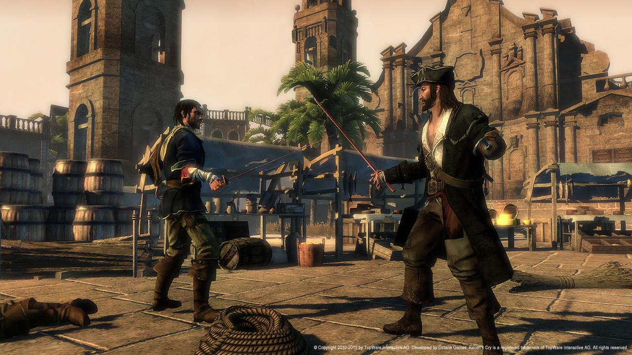 Raven's Cry Screenshot