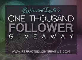 Refracted Light Reviews 1000 Followers Giveaway