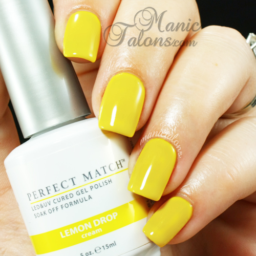 LeChat Lemon Drop Swatch