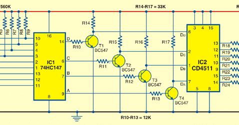 circuit diagram numeric water level indicator rh cidigg blogspot com
