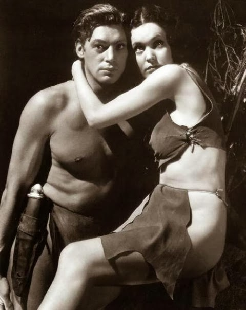 MAUREEN O´SULLIVAN (TARZÁN Y SU COMPAÑERA, 1934)
