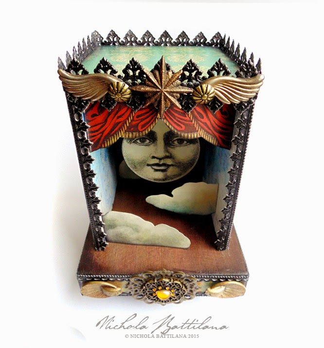 Vintage Theatre Moon Shrine - Nichola Battilana