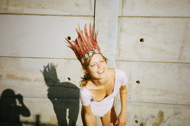 Ceara McAuliffe in littledoeislove crown photographed in Hollywood CA by Emily Knecht