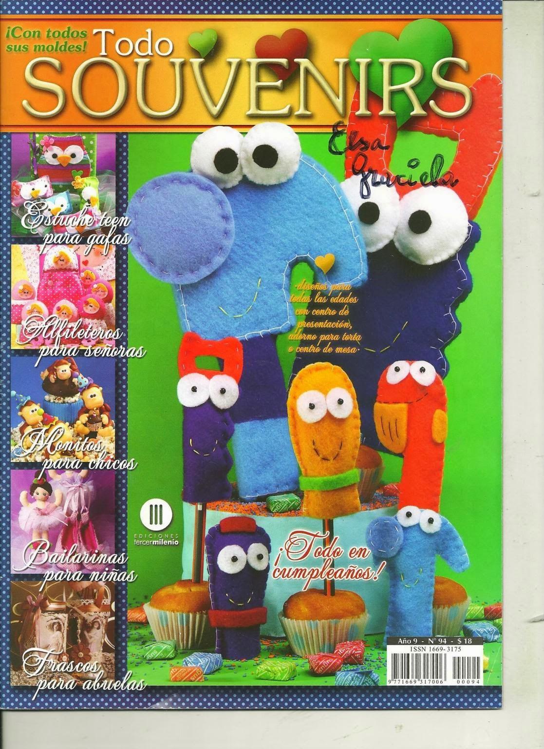 Manny y sus herramientas en fieltro - Revistas de manualidades gratis