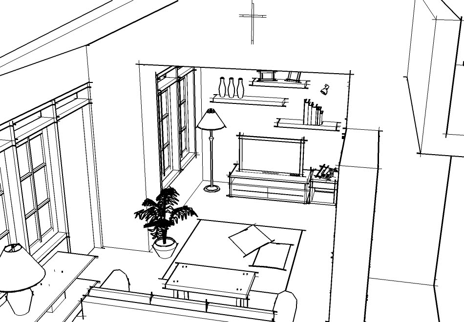 Home Design Sketches