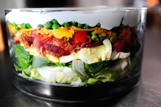 Recipe: Layered salad