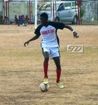 Fútbol, jugador Santiago de Cuba