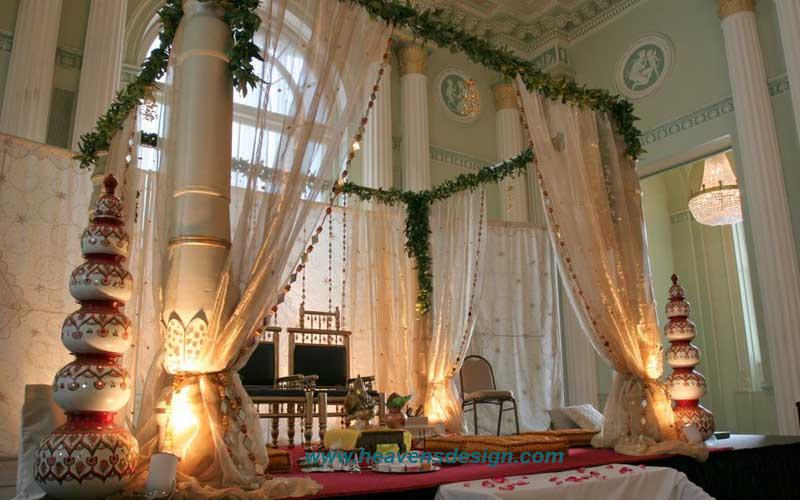 Indian wedding hall decoration ideas interior design ideas for Wedding hall decoration items