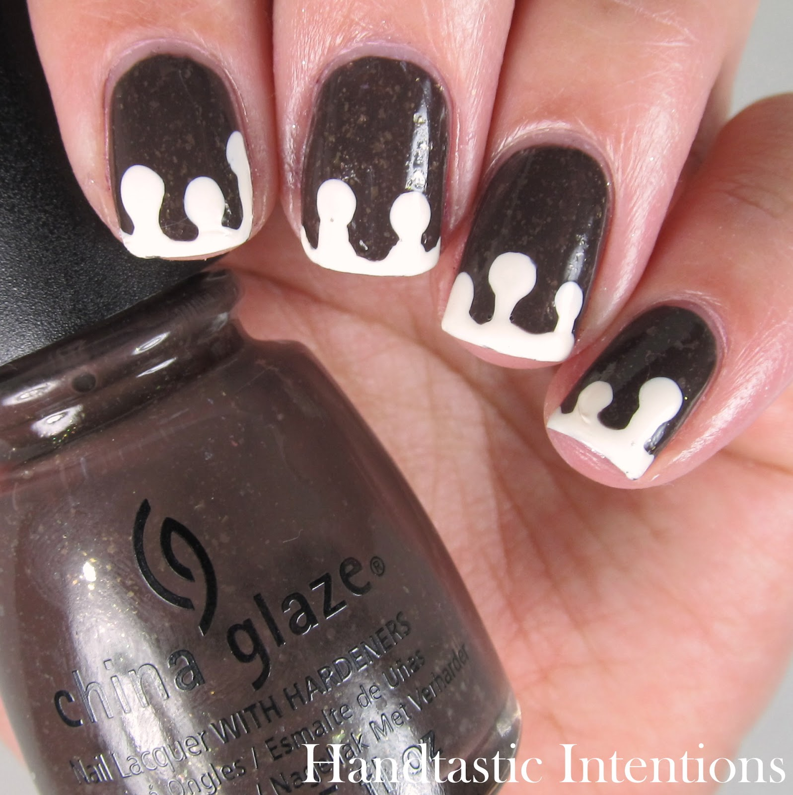 Gingerbread-Nails