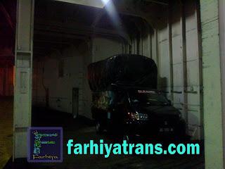 pengiriman truk muatan