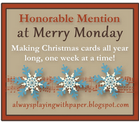 MERRY MONDAY HONOURABLE MENTION #34