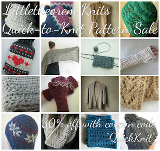 Knitting pattern sale discount code