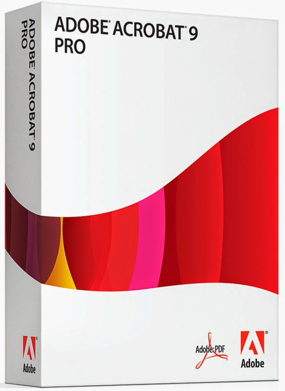 Adobe acrobat 9 pro included in cs5