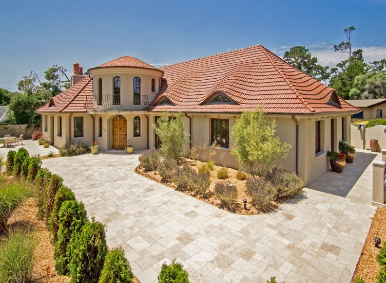 Homes Mansions Mediterranean Style Mansion For Sale In