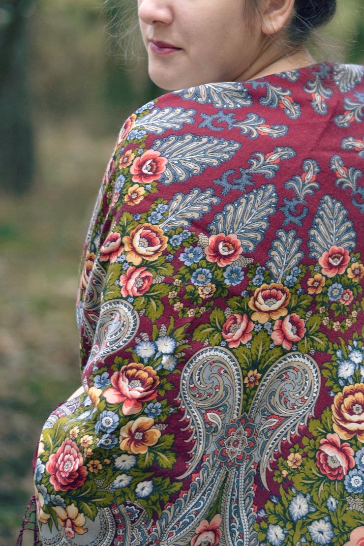 Rosyjskie kwiaty na Twoich ramionach