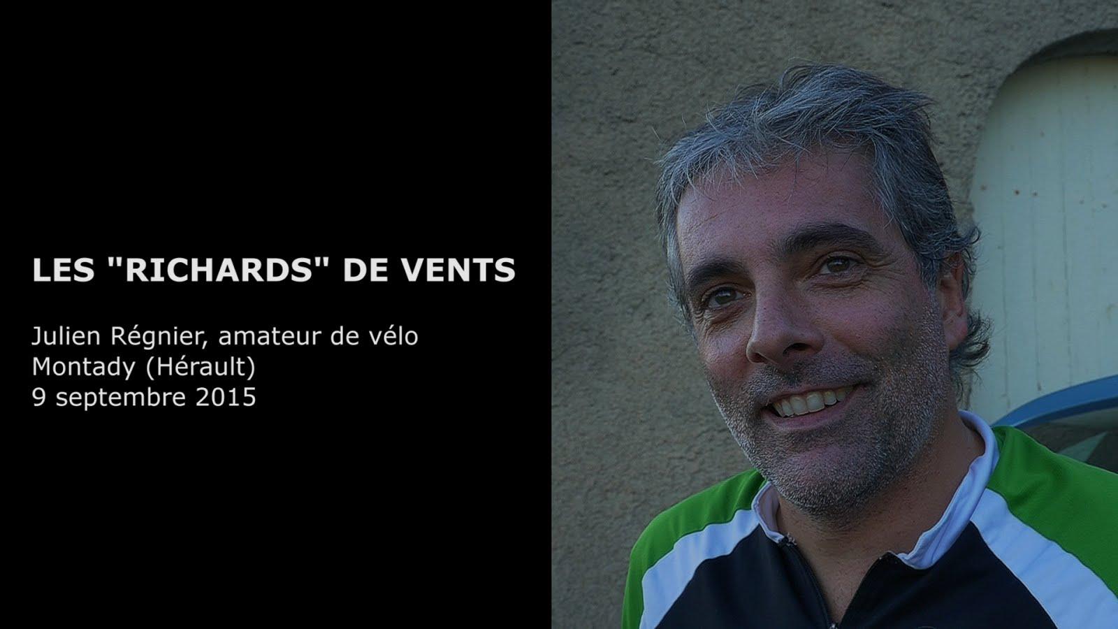 Julien Régnier - amateur de vélo