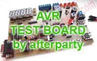 TEST BOARD - Płytka testowa mikrokontrolera ATmega Atmel AVR.