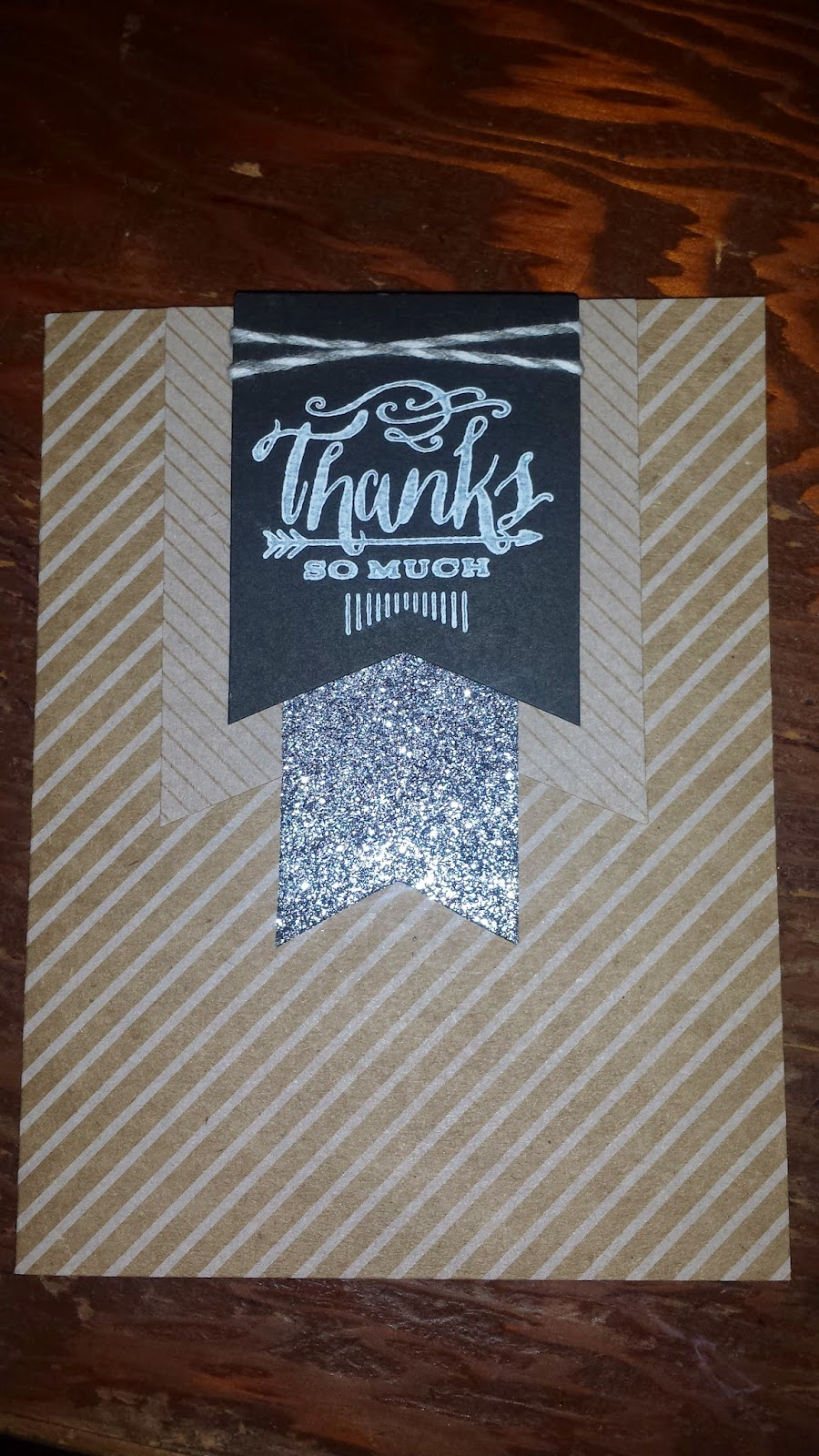 Homemade Thank You Card