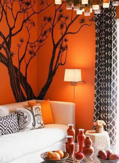 Autumnal decoration for home