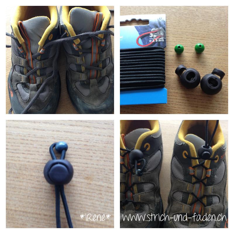 mit Strich und Faden | Schnellschnürer Schuhe DIY