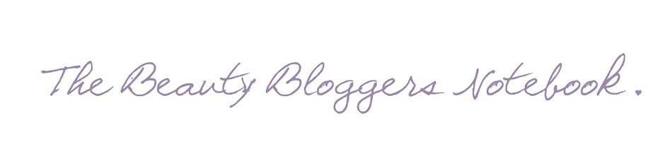 The Beauty Bloggers Notebook