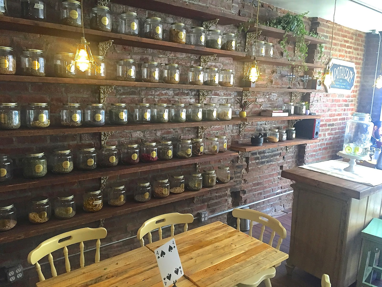 Wall of Herbs & Spices - Little Choc Apothecary Vegan Veega Blog