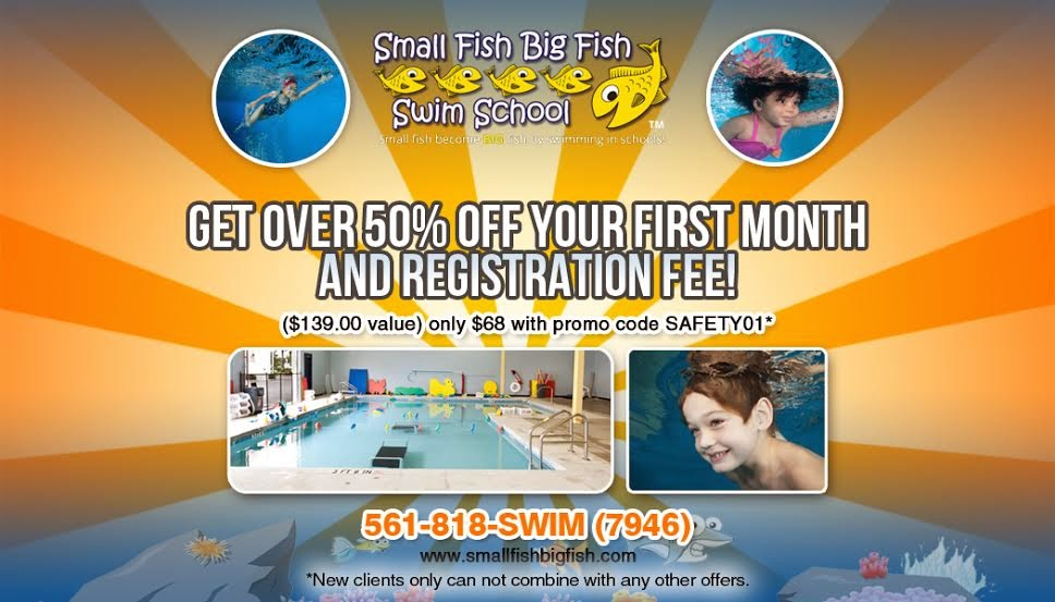 We Are Proud To Present Small Fish Swim School As A Sponsor Of Macaroni Kid Palm Beach Gardens Jupiter
