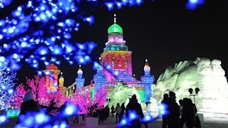 Harbin Festival de Hielo y Nieve dedicado a Rusia