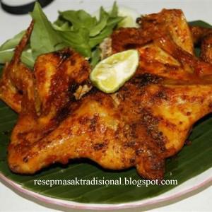 Resep Cara Membuat Pelecing Ayam (Lombok)