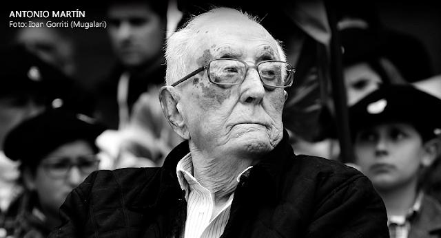 Antonio Martín. Foto: Iban Gorriti (Mugalari)