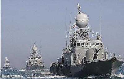 Angkatan laut iran dan rusia akan melakukan latihan perang bersama di